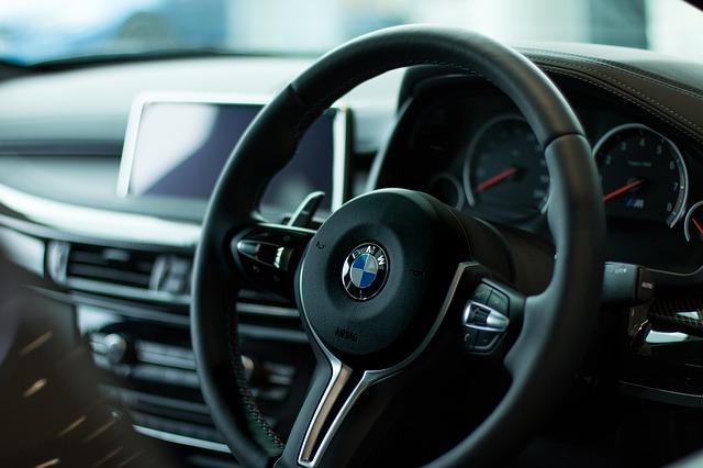 interiér BMW