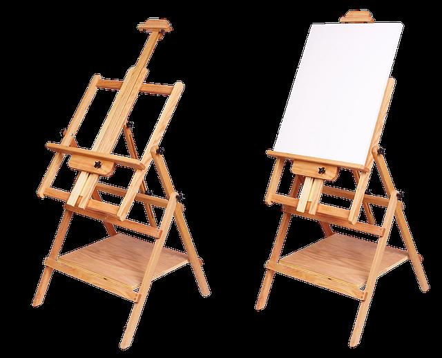 malířský stojan