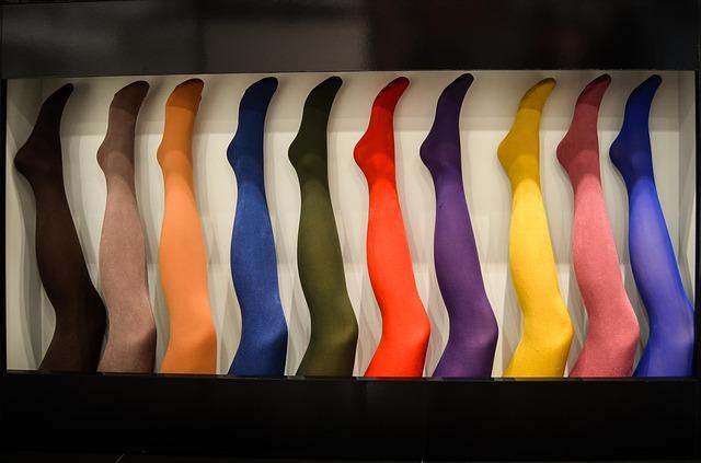 barevné punčocháče
