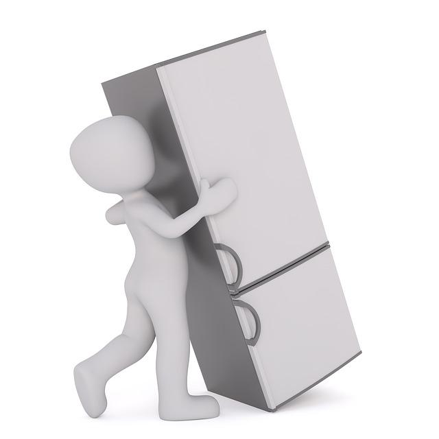 stěhování lednice