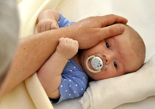 novorozený chlapeček