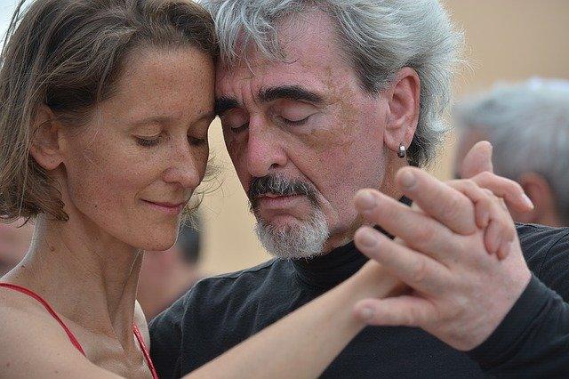 vášnivé tango