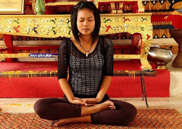 meditace japonky