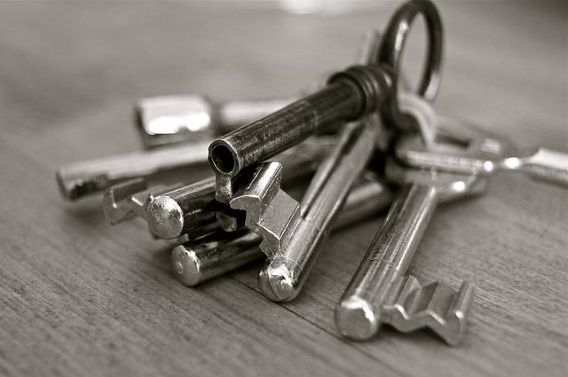 svazek velkých klíčů