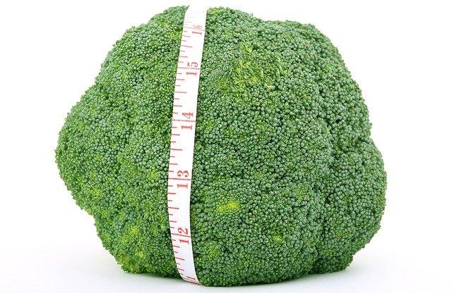 krejčovský metr a brokolice