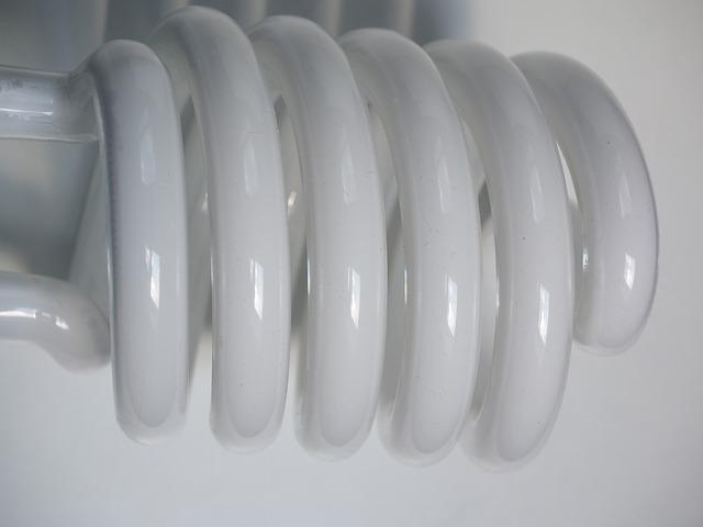 trubice kompaktní zářivky
