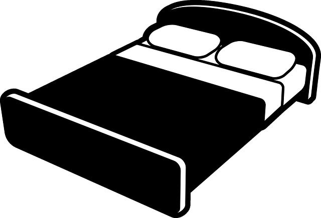 spánek, postel