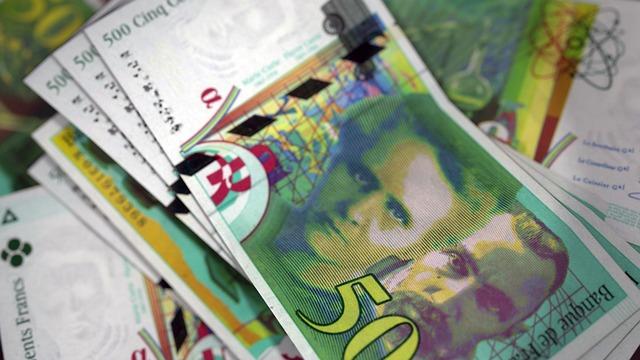 francouzské bankovky