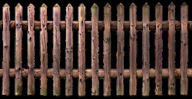 plot dřevěný