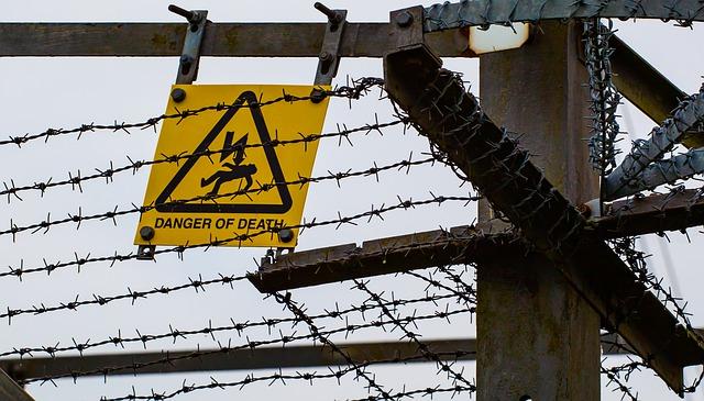 varování před proudem